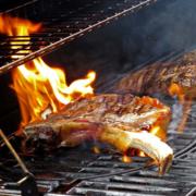 steaks am grill
